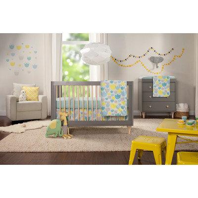 babyletto Tulip Garden 6-Piece Crib Bedding Set - T11330