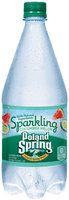 Poland Spring® Sparkling Cucumber Melon Natural Spring Water 1L Plastic Bottle
