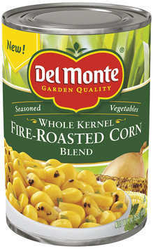 Del Monte Garden Quality® Fire-Roasted Whole Kernel Corn Blend 14.75 oz. Can