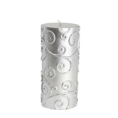 Zest Candle Scroll Pillar Candle Size: 6