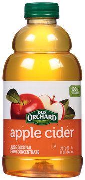 Old Orchard® Apple Cider Juice Cocktail 32 fl. oz. Bottle