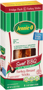 Jennie-O® Sweet BBQ Turkey Breast Sticks 6-0.75 oz. Sticks