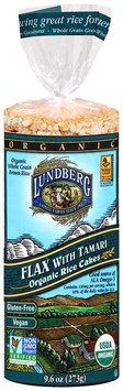 Lundberg® Flax with Tamari Organic Rice Cakes 9.6 oz. Bag