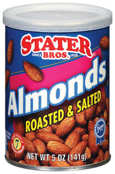 Stater Bros. Roasted & Salted Almonds 5 Oz Can