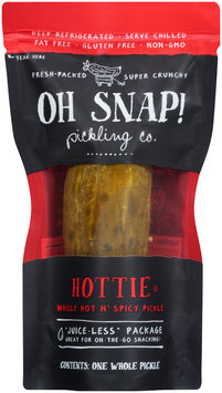 Oh Snap! Hottie Whole Hot n' Spicy Pickle Pouch