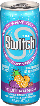 The Switch® Fruit Punch Sparkling 100% Juice 8 fl. oz. Pull-Top Can