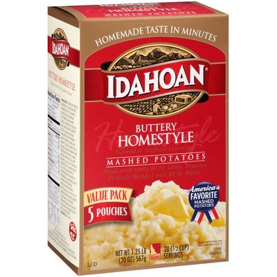 Idahoan® Buttery Homestyle Mashed Potatoes 5 ct Pouches
