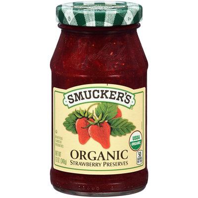 Smucker's® Organic Strawberry Preserves 12 oz. Jar
