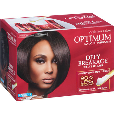 Optimum Care® Salon Collection Relaxer Regular Strength for Fine to Regular Hair Types 1 Kit Box