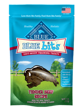 THE BLUE BUFFALO CO. BLUE™ Bits® Tender Beef Soft-Moist Training Treats