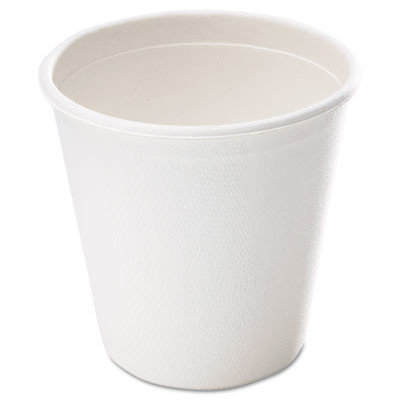SAVANNAH SUPPLIES INC. L052 Bagasse Cup 12oz 50/pack White