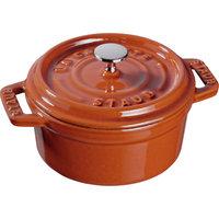 Staub Cast Iron Round Cocotte Size: 5.5-qt.