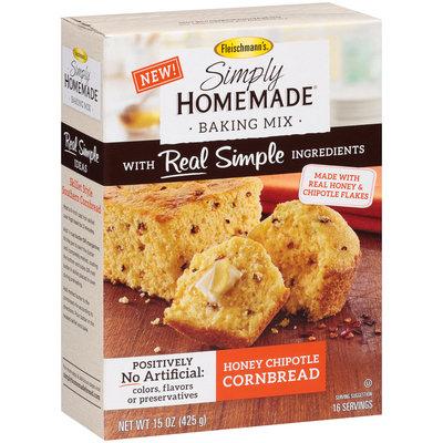 Fleischmann's® Simply Homemade® Honey Chipotle Cornbread Baking Mix 15 oz. Box