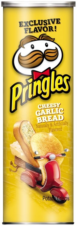 Pringles® Cheesy Garlic Bread Potato Crisps 5.96 oz ... Garlic Bread Brands
