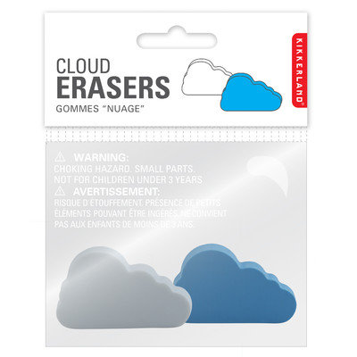 Kikkerland 2 Eraser Clouds