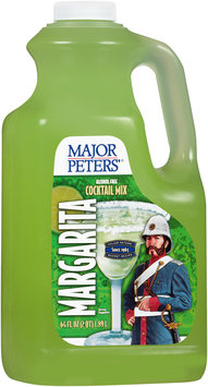 Major Peters'® Margarita Alcohol Free Cocktail Mix 64 fl. oz. Jug