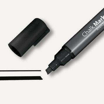 Sigel Chalk Marker Chisel Tip 1-5mm Line Black
