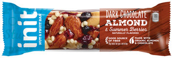 Init™ Dark Chocolate Almond & Summer Berries Nut & Fruit Bar