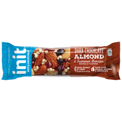 Init™ Dark Chocolate Almond & Summer Berries Nut & Fruit Bar 1.41 oz. Bar