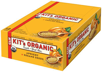 CLIF Kit's Organic® Apricot + Sesame Seeds Fruit & Seed Bars 12 ct Box