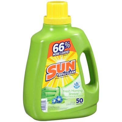 Sun® Fresh Morning Breeze® Laundry Detergent 50 Loads 75 fl. oz. Plastic Jug