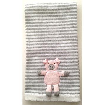 The Little Acorn Piggy 3D Stroller Blanket