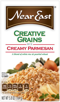 Near East Creamy Parmesan Creative Grains Mix 5.8 Oz Box