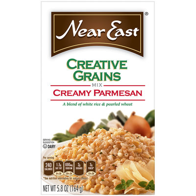 Near East Creamy Parmesan Creative Grains Mix 5.8 Oz Box