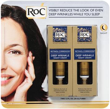 RoC® Retinol Correxion® Deep Wrinkle Night Cream 2-1.0 fl. oz. Tubes