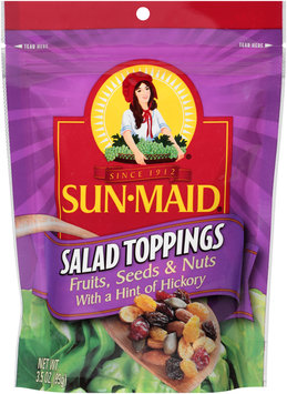 Sun-Maid® Fruits, Seeds & Nuts with a Hint of Hickory Salad Toppings 3.5 oz. Bag