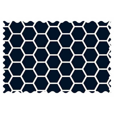 Stwd Honeycomb Fabric by the Yard Color: Navy