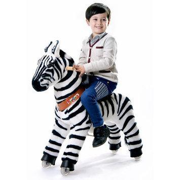Merske Vroom Rider PonyCycle Ride-On Zebra