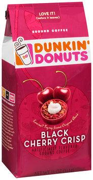 dunkin' donuts® black cherry crisp ground coffee