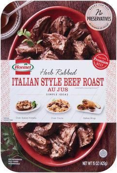 Hormel®   Herb Rubbed Italian Style Beef Roast Au Jus 15 oz. Tray
