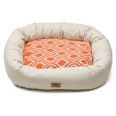 West Paw Design West Paw Cotton Bumper Dog Bed Sunset Groove LG