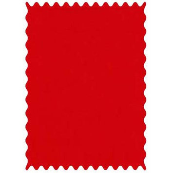 Sheetworld Flannel Fabric by the Yard Color: Red