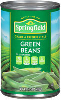 Springfield® French Style Green Beans 14.5 oz. Can