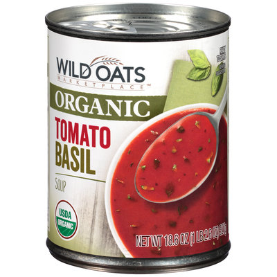 Wild Oats Marketplace™ Organic Tomato Basil Soup 18.6 oz. Can