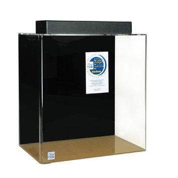 Clearforlife Rectangle Acrylic Aquarium Tank Color: Black, Size: 36