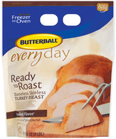 Butterball Ready to Roast Everyday Boneless Skinless Smoked Flavor Turkey Breast 48 Oz Package