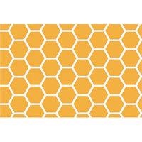 Sheetworld Honeycomb Portable Mini Fitted Crib Sheet Color: Mustard Yellow