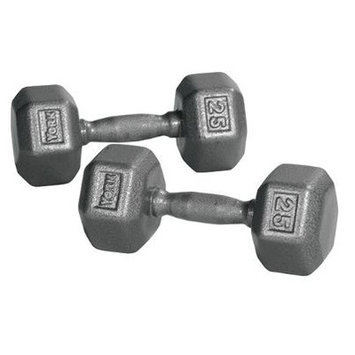 York Barbell Pro Hex Dumbbell Weight: 45 lbs