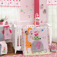 Lambs & Ivy Sprinkles 4 Piece Crib Bedding Set