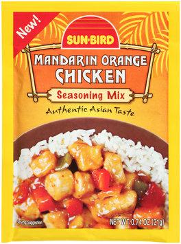 Sun-Bird® Mandarin Orange Chicken Seasoning Mix 0.74 oz. Packet