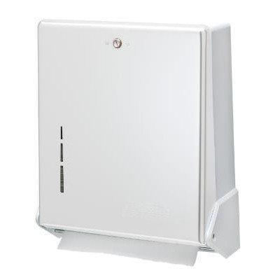 San Jamar T1905WH - Multifold Towel Dispenser, Large Cap, Metal Front
