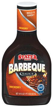 Stater Bros. Hickory Barbeque Sauce 18 Fl Oz Plastic Bottle