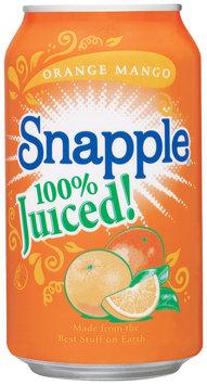 Snapple Orange Mango 100% Juiced Flavors 11.5 Oz Can