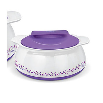 Milton Exotique Insulated Hot-pot Food Server Casserole with Stainless Steel.