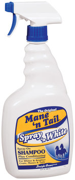 Mane 'n Tail The Original Spray & White Plus Conditioning Spray-On Shampoo 32 Fl Oz Trigger Spray
