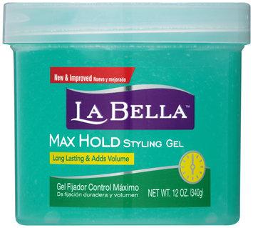 La Bella™ Max Hold Styling Gel 12 oz. Tub